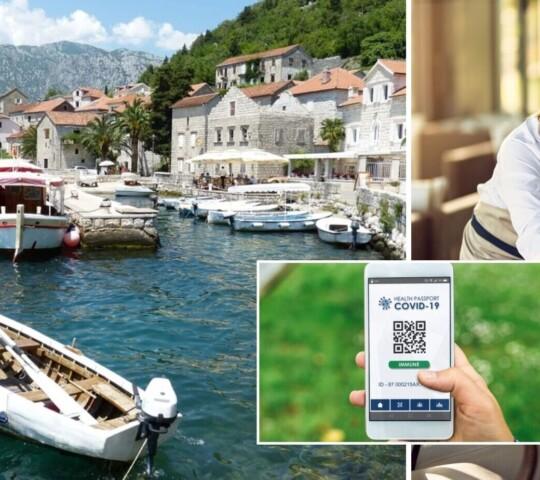 Черногория начала требовать Covid-сертификаты для посещения ресторанов и клубов